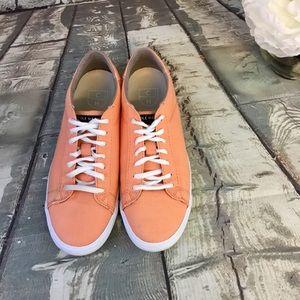 Cole Haan Trafton Court II Nectar Orange Sneakers